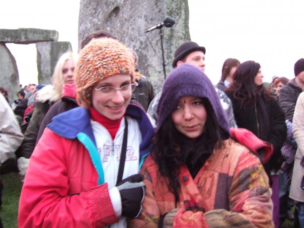 The morning ceremony at Stonehenge in December was not warm.