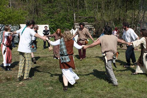A Pagan Beltane ritual